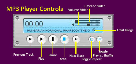 MP3 Player Controls